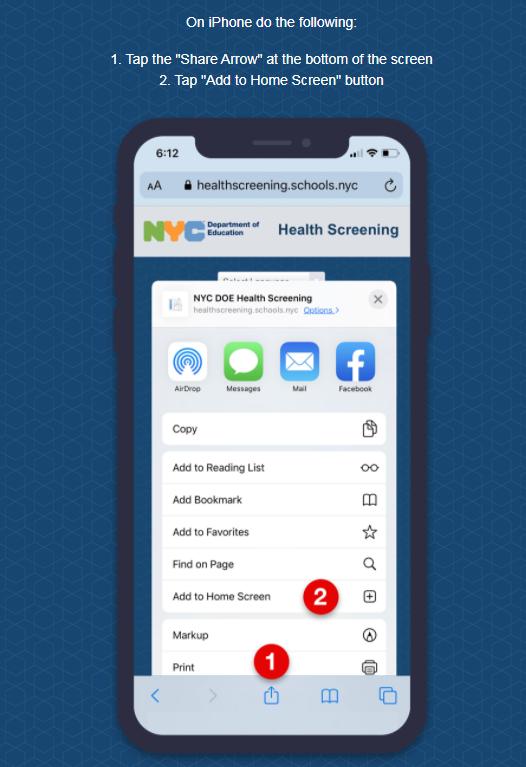 Health Screening (DOE Buildings) | HSMSE